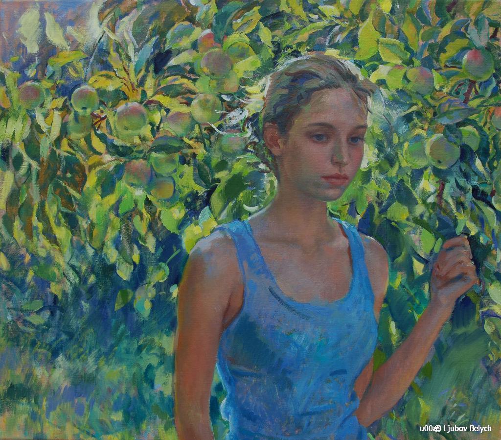 ljuba-belych-im-garten-70x80-2014_web - Ljubov Belych